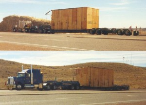 Transportation of 2 Compressors from San Diego